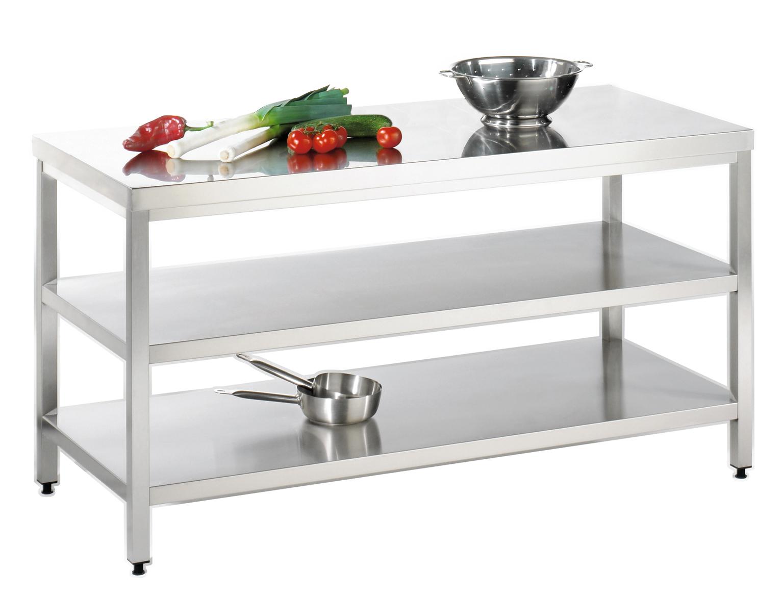 inlustrius shop table de travail 500x600x850 mm acier. Black Bedroom Furniture Sets. Home Design Ideas